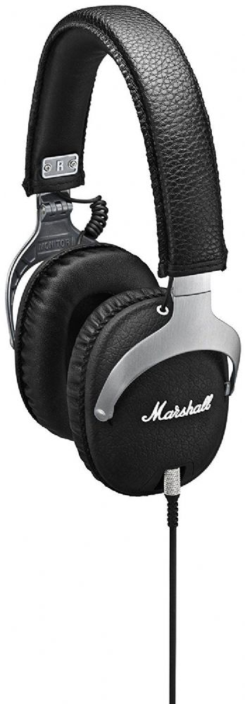 Marshall Monitor Headphones with Mic - Steel Edition
